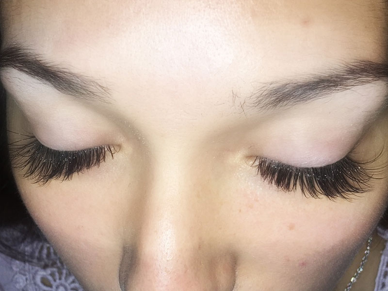 Full Set Eyelash Weave In 77388 Spring Houston